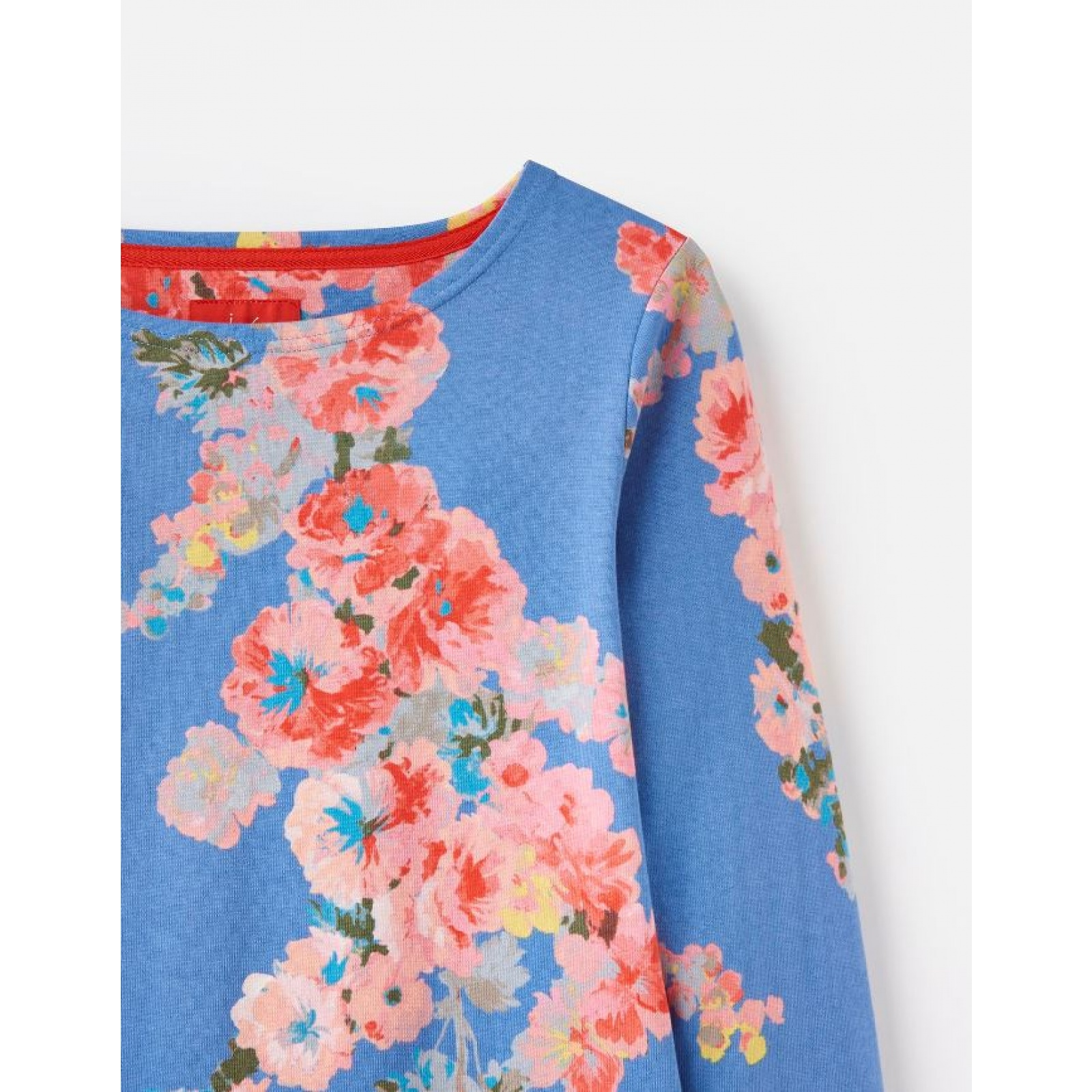 Joules-Harbour-Printed-3-4-Sleeve-Jersey-Top-SS19 thumbnail 7