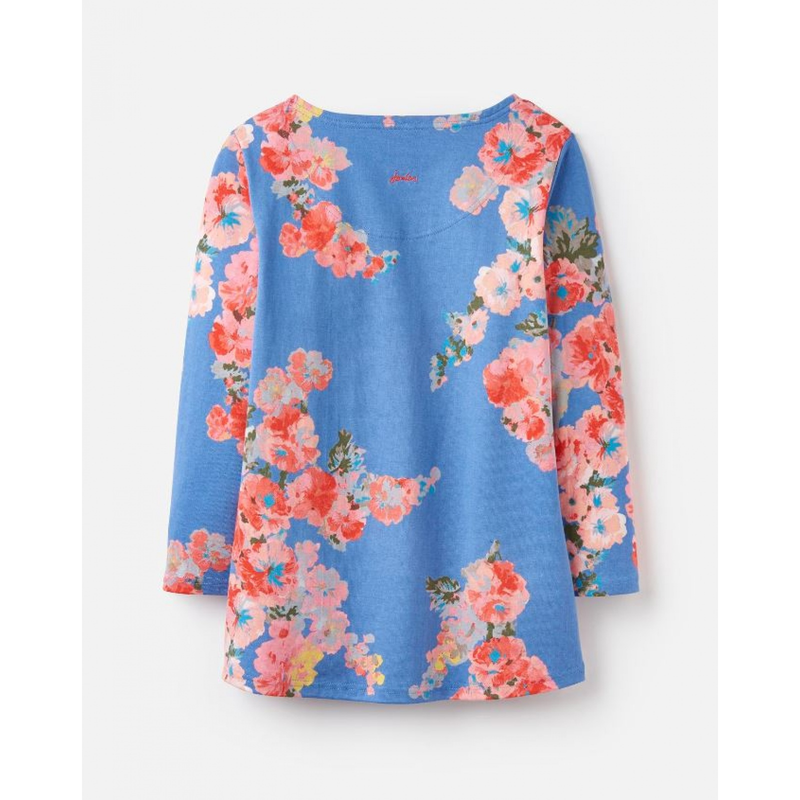 Joules-Harbour-Printed-3-4-Sleeve-Jersey-Top-SS19 thumbnail 5
