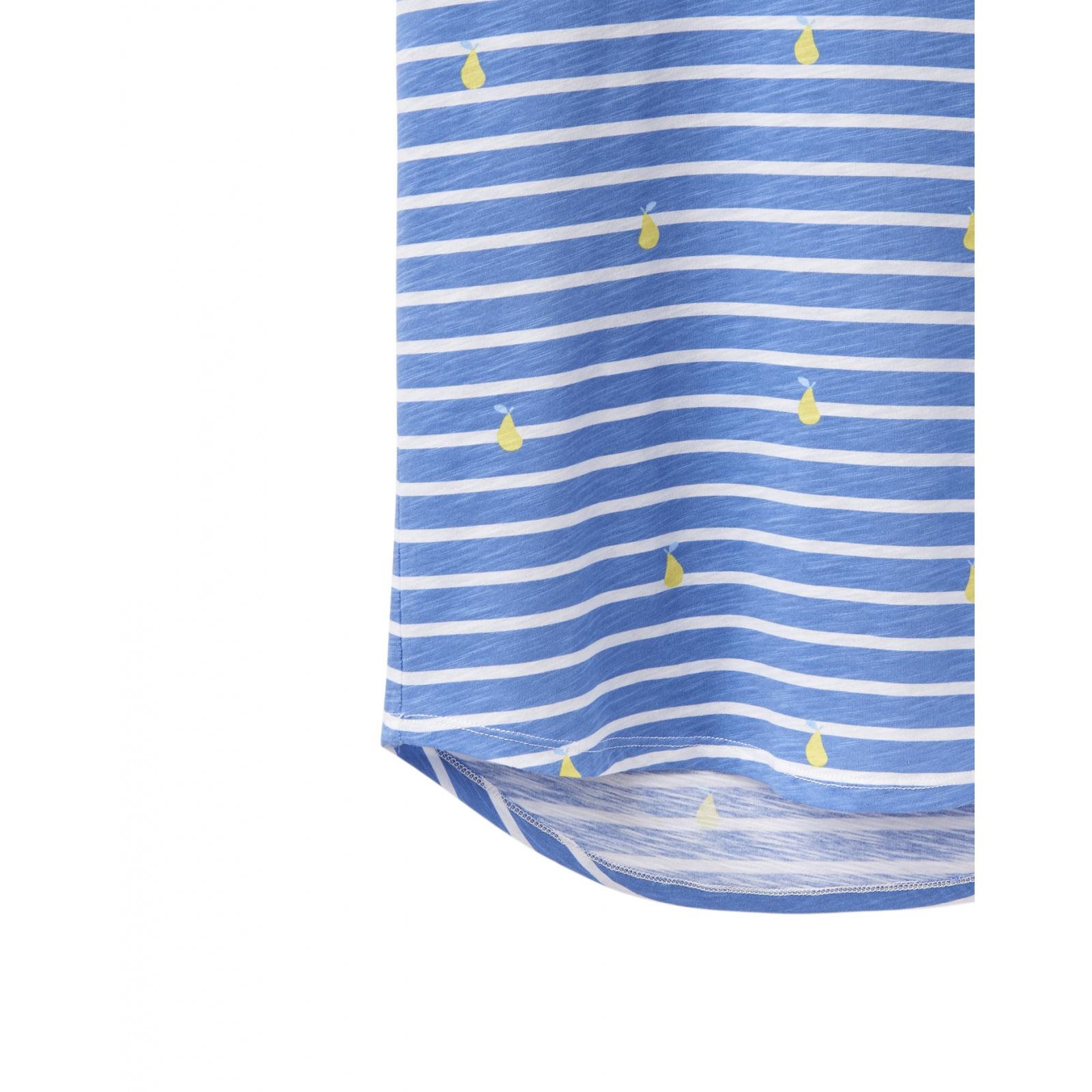 Joules-Bo-impresion-100-Algodon-Jersey-Chaleco-Top-Todos-Los-Colores miniatura 6