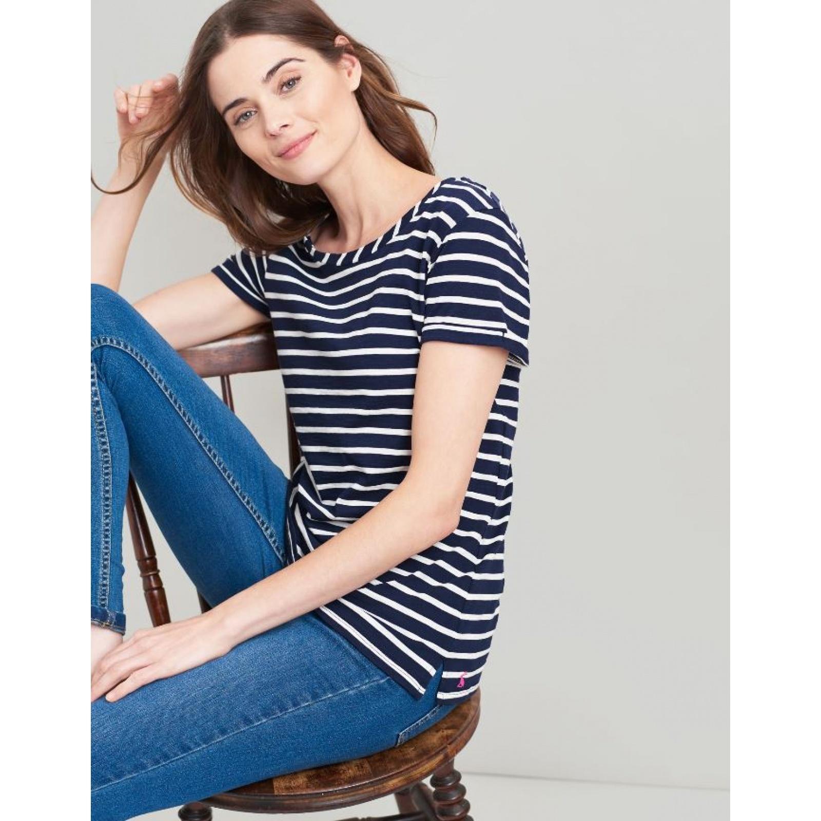 Joules-Nessa-Raya-Ligero-Jersey-Camiseta-SS19 miniatura 18