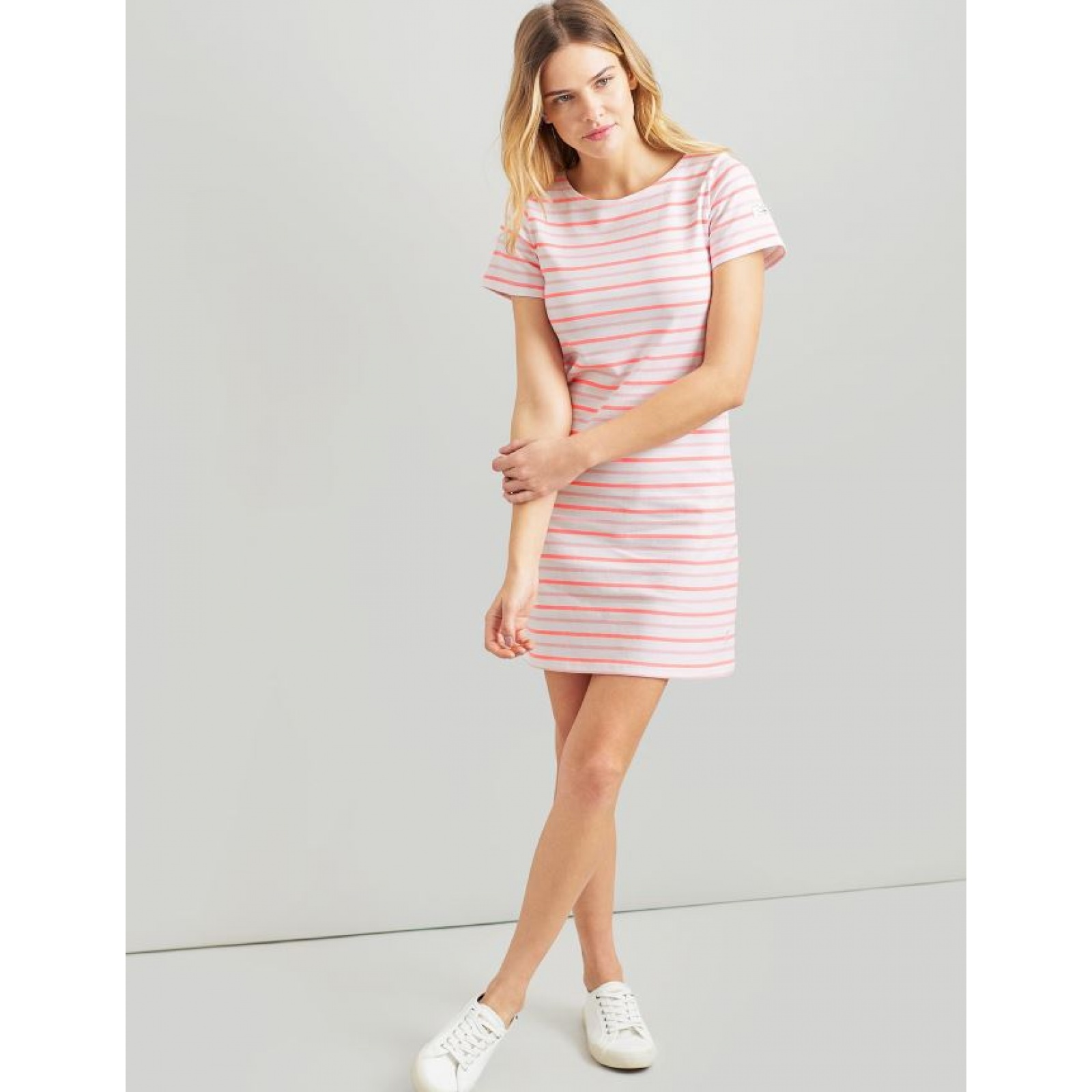 Joules-Riviera-T-Shirt-Dress-with-Short-Sleeves-SS19 miniature 36
