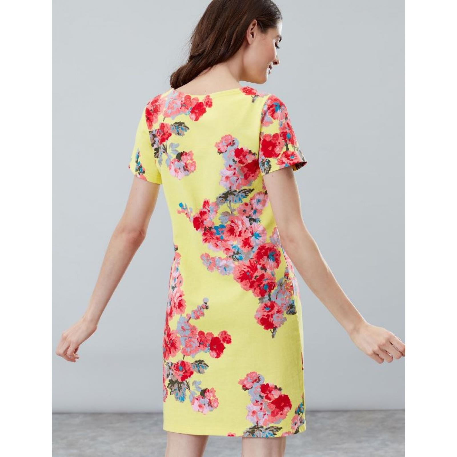 Joules-Riviera-Print-T-Shirt-Dress-with-Short-Sleeves-SS19 thumbnail 14