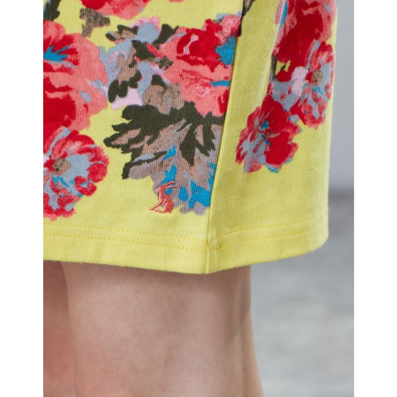 Joules-Riviera-Print-T-Shirt-Dress-with-Short-Sleeves-SS19 thumbnail 16