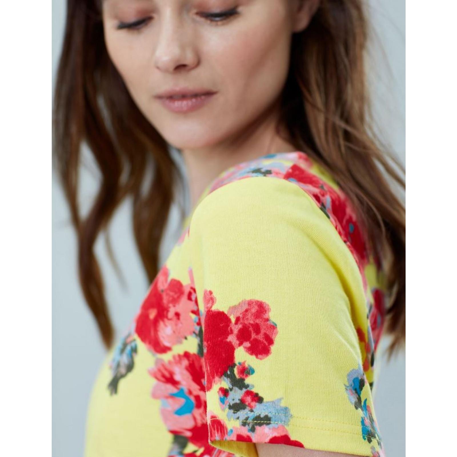 Joules-Riviera-Print-T-Shirt-Dress-with-Short-Sleeves-SS19 thumbnail 17