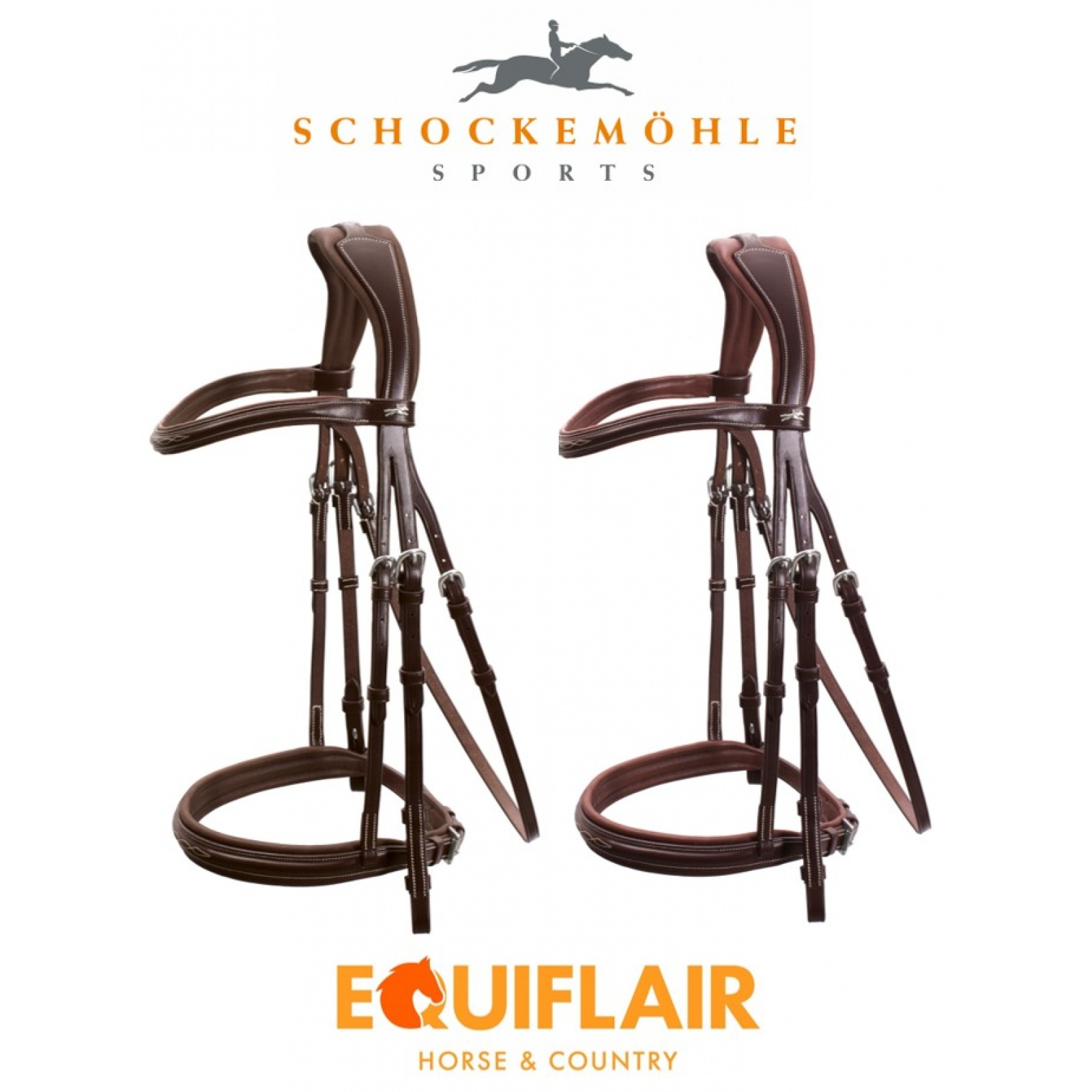 Schockemohle-Montreal-Select-Padded-Bridle miniature 5