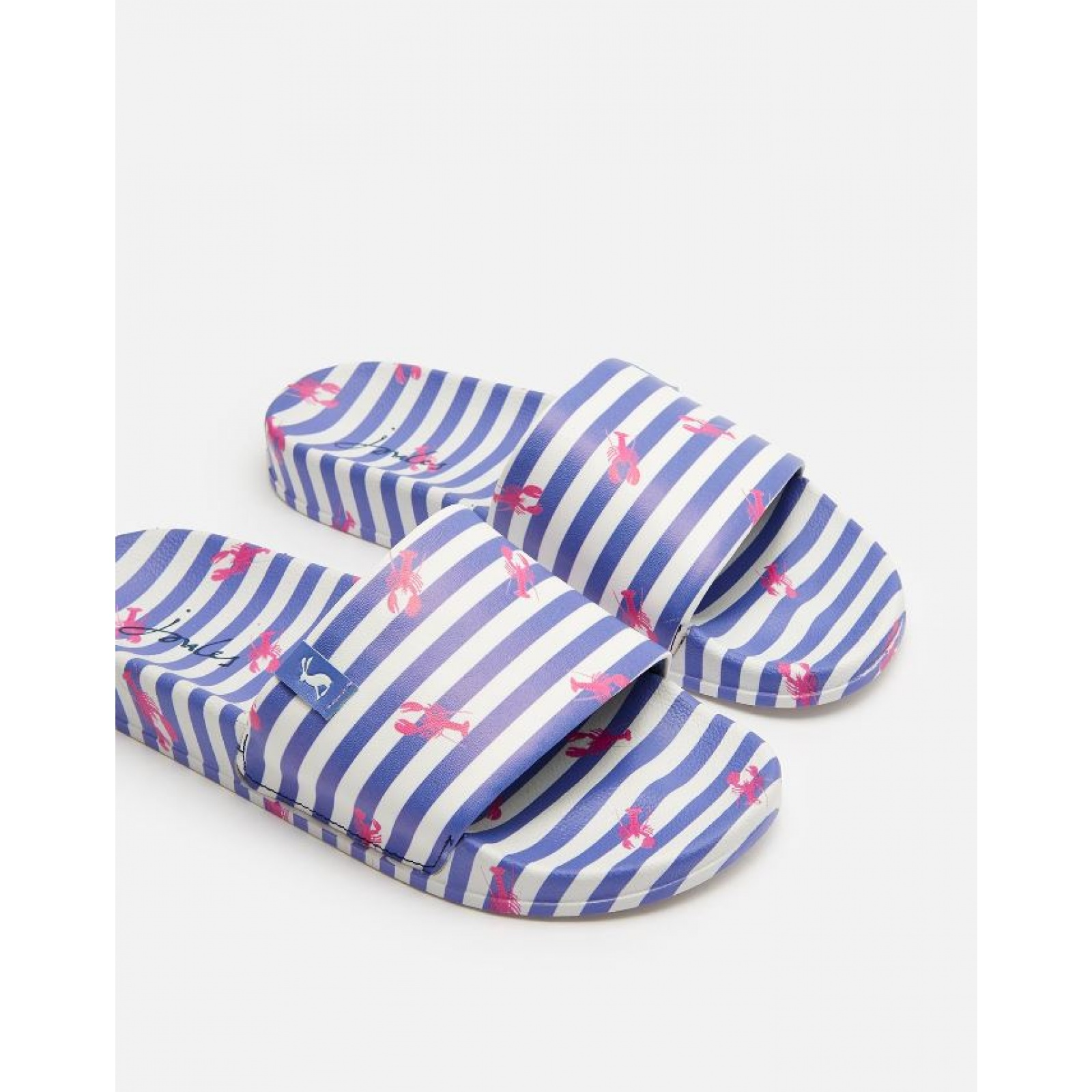 Joules-Poolside-PU-Sliders-Beach-Holiday-Shoes-SS19 miniature 8