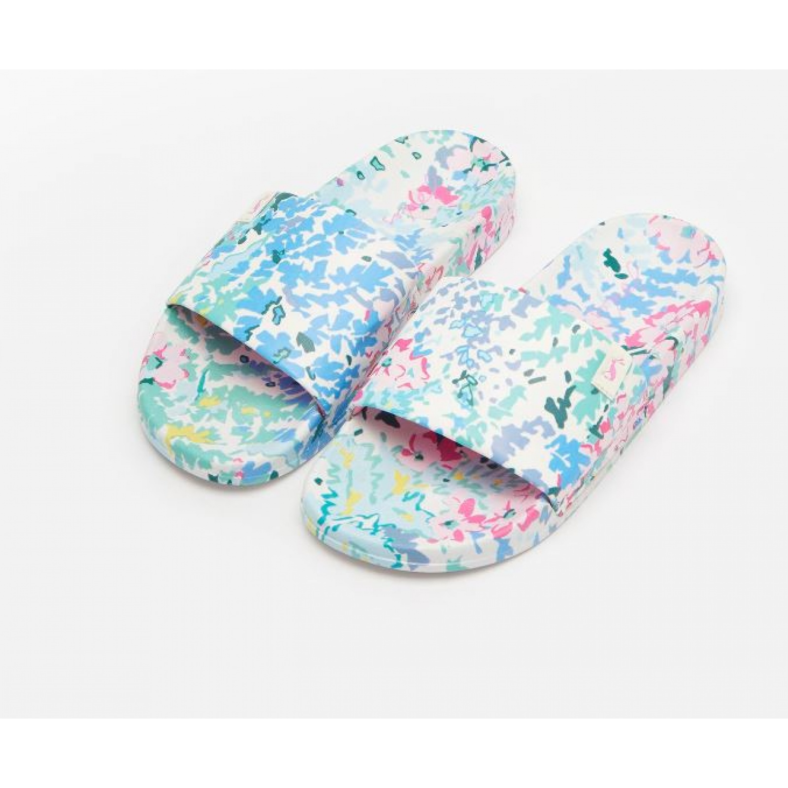Joules-Poolside-PU-Sliders-Beach-Holiday-Shoes-SS19 miniature 23