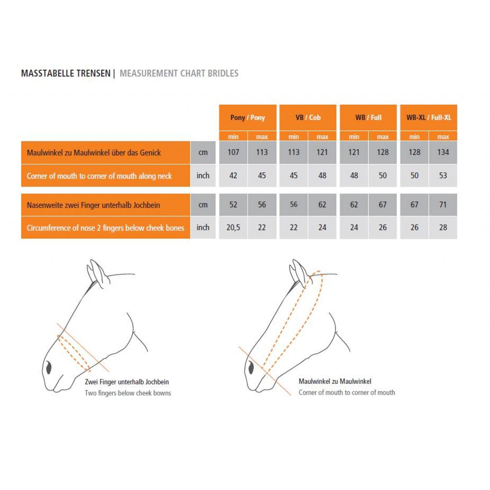 Schockemohle-Malibu-Rolled-Crank-Dressage-Bridle miniature 6