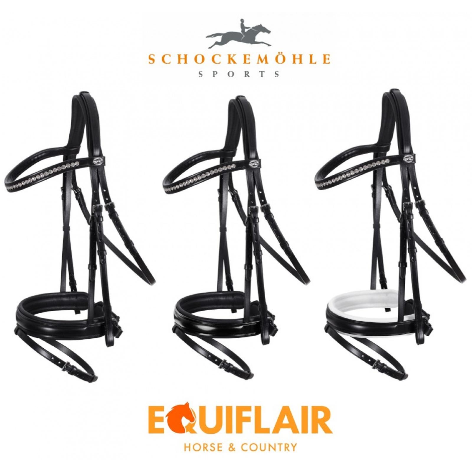 Schockemohle-Madrid-Classic-Line-Flash-Bridle miniature 6