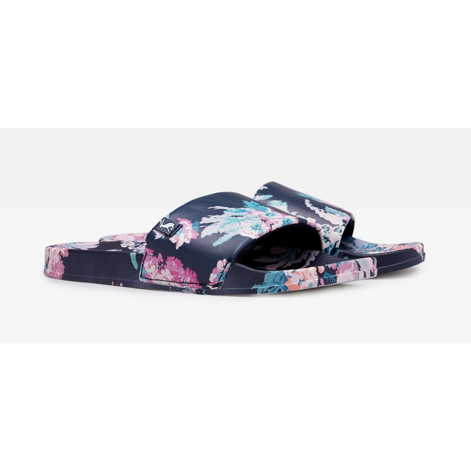 Joules-Poolside-PU-Sliders-Beach-Holiday-Shoes-SS19 miniature 11