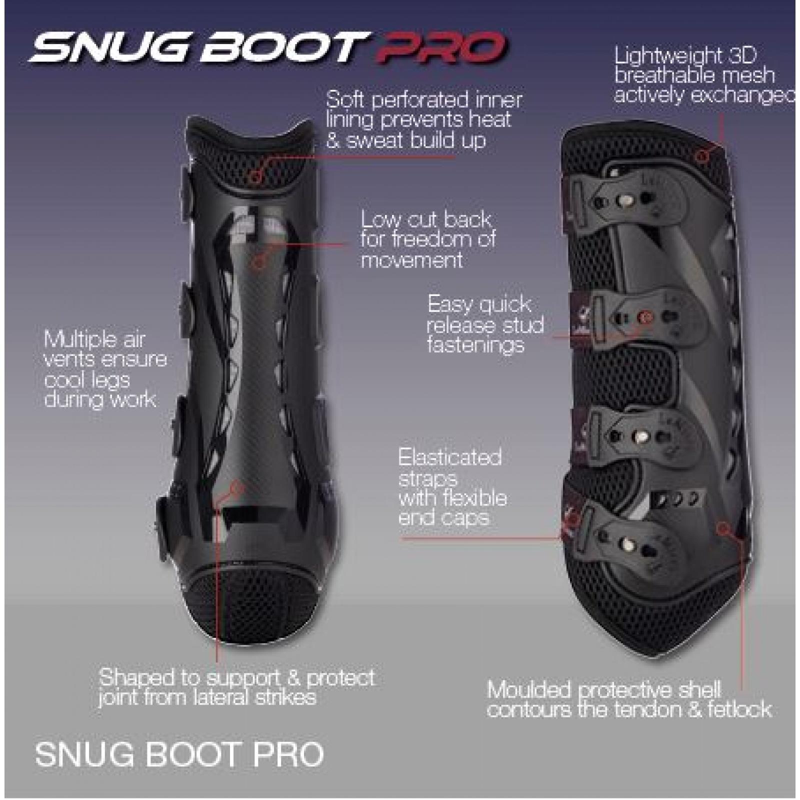 LeMieux-Snug-Boot-Pro-Dressage-Schooling-Boots-Hind miniature 5
