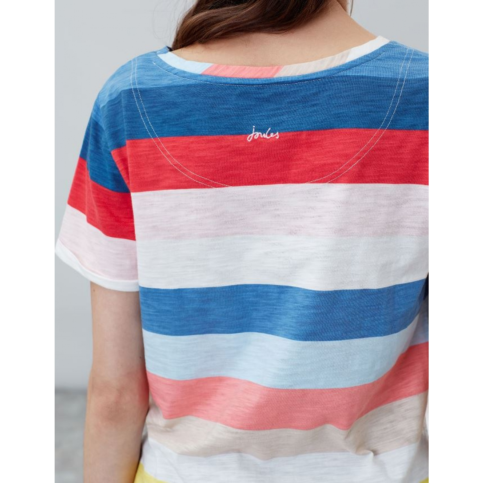 Joules-Nessa-Raya-Ligero-Jersey-Camiseta-SS19 miniatura 4