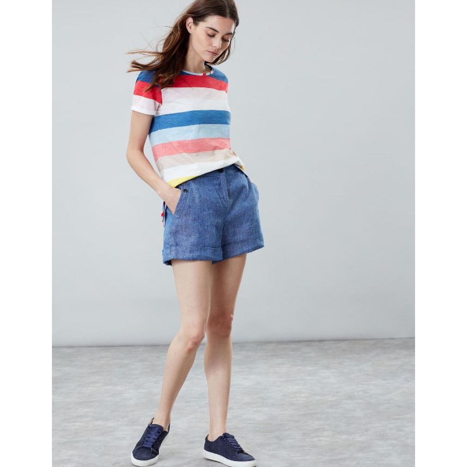 Joules-Nessa-Raya-Ligero-Jersey-Camiseta-SS19 miniatura 5