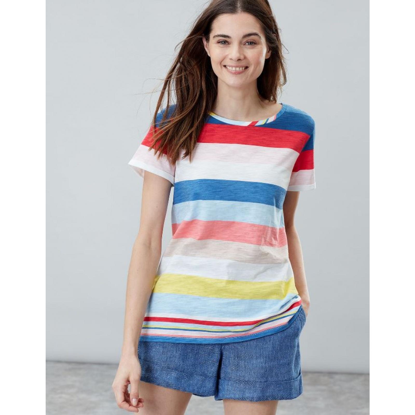 Joules-Nessa-Raya-Ligero-Jersey-Camiseta-SS19 miniatura 3