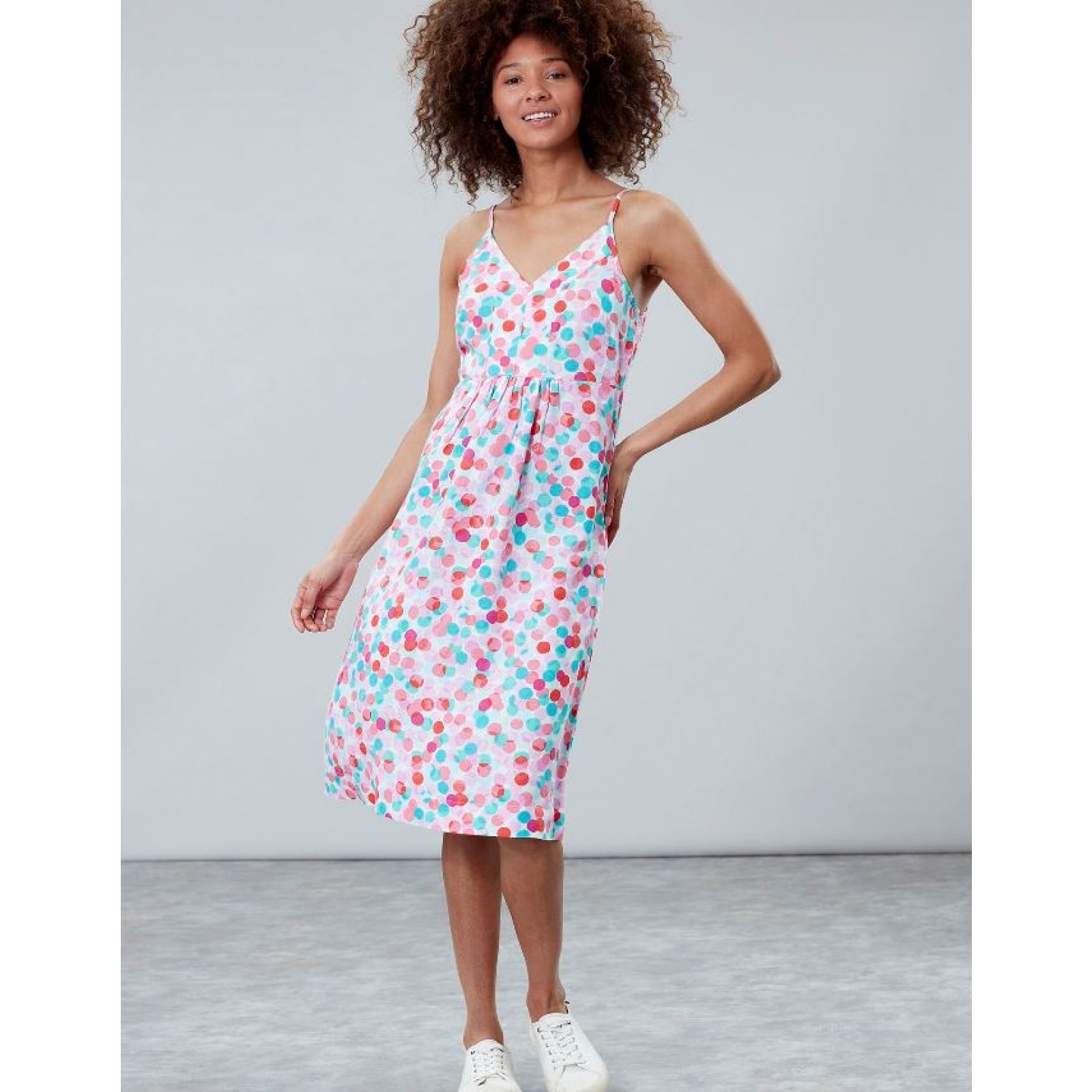 Joules-Zoey-V-Neck-Strappy-Dress-MORE-COLOURS miniature 8