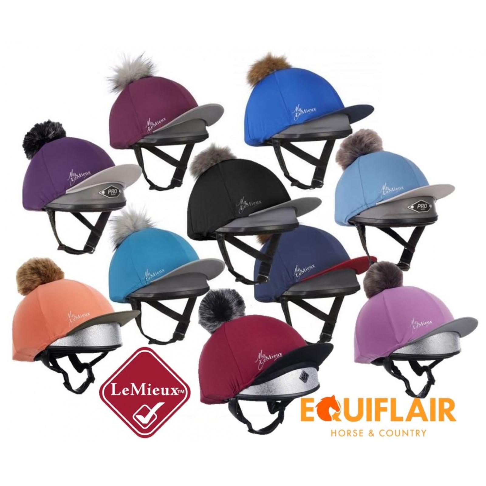 My-LeMieux-Hat-Silk-with-Detachable-Faux-Fur-Pom-Pom miniature 3