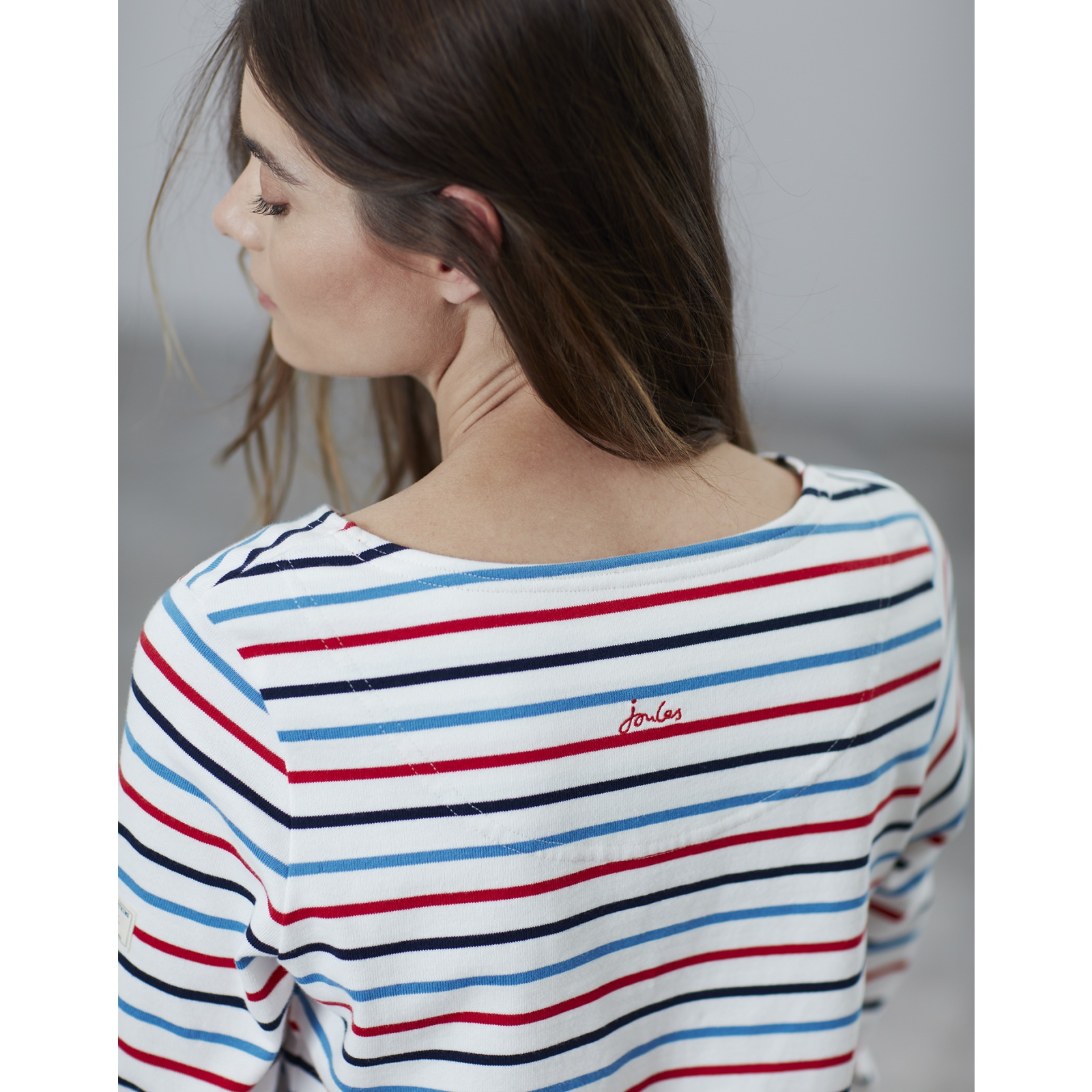 Joules-Harbour-Long-Sleeve-Jersey-Top-ALL-COLOURS thumbnail 10