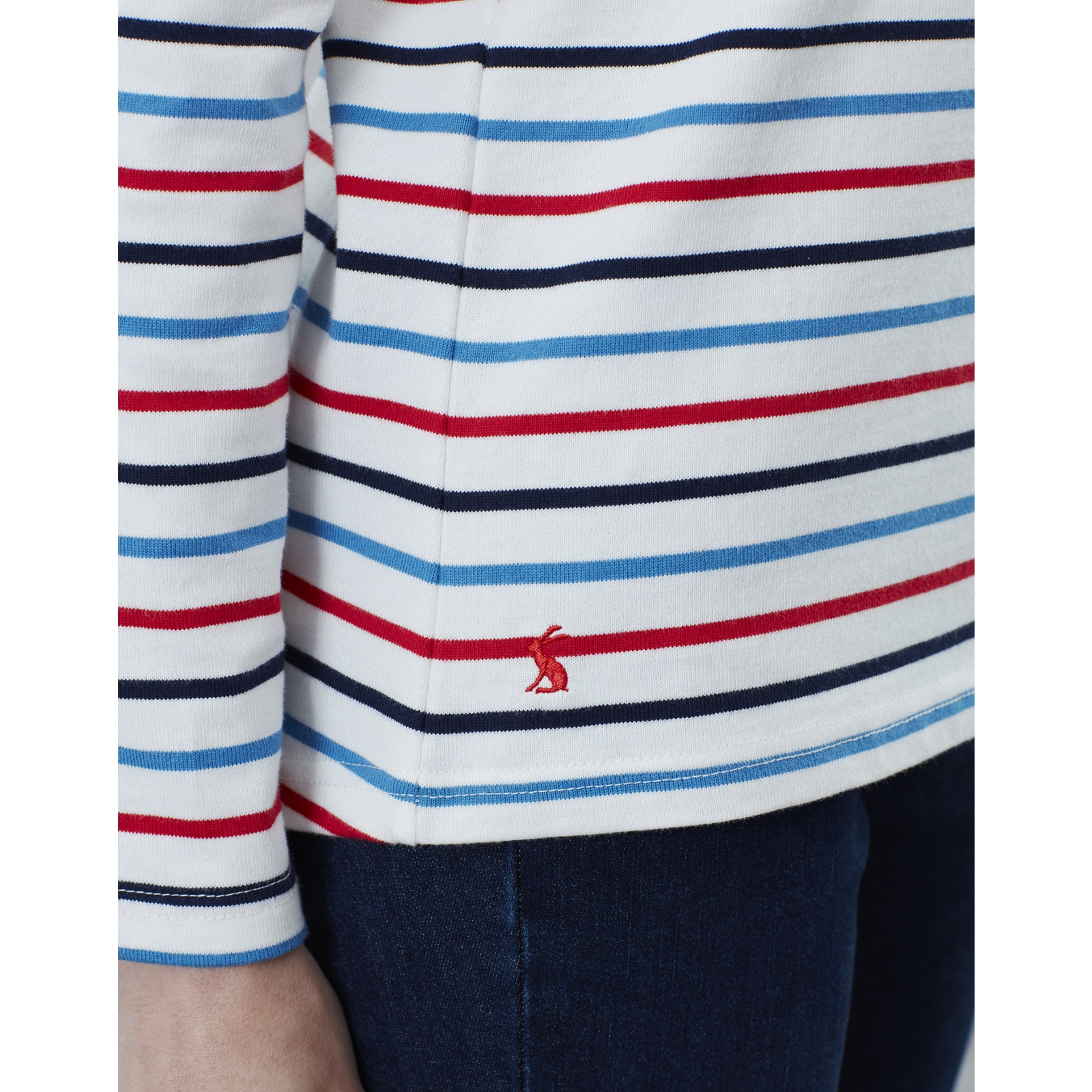 Joules-Harbour-Long-Sleeve-Jersey-Top-ALL-COLOURS thumbnail 14