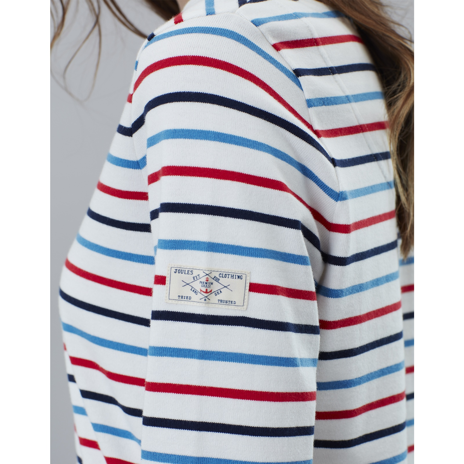Joules-Harbour-Long-Sleeve-Jersey-Top-ALL-COLOURS thumbnail 16