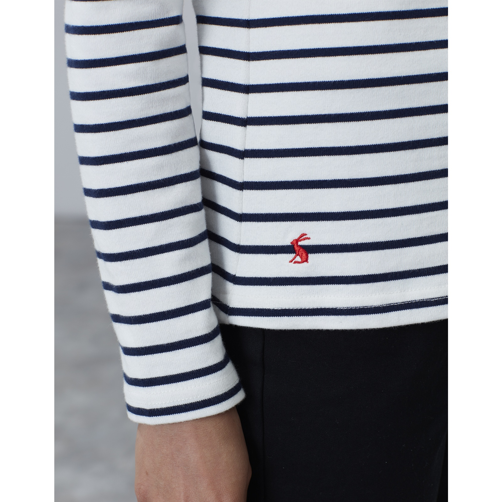 Joules-Harbour-Long-Sleeve-Jersey-Top-ALL-COLOURS thumbnail 20