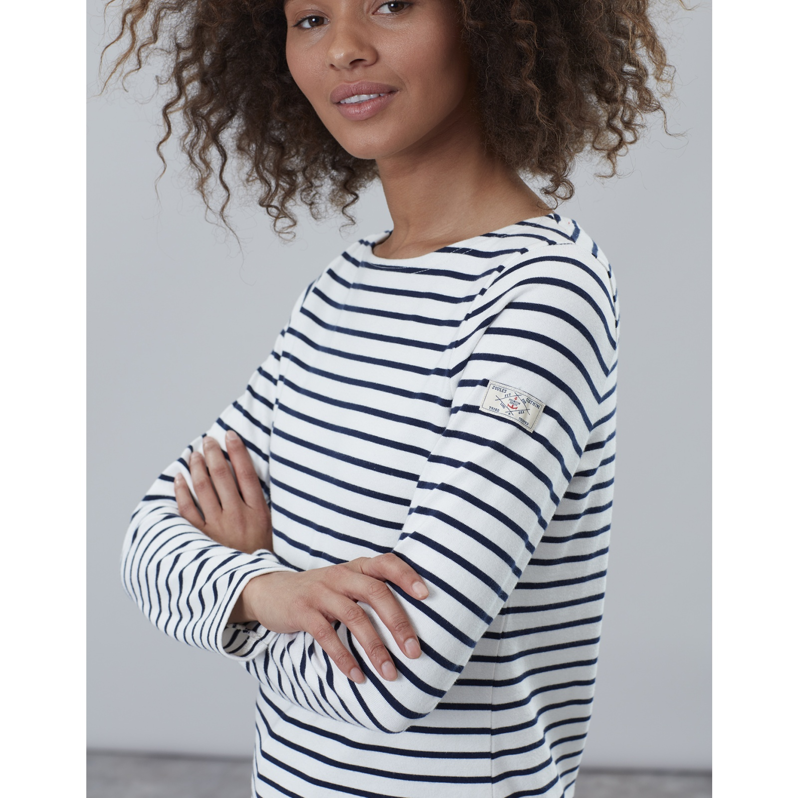 Joules-Harbour-Long-Sleeve-Jersey-Top-ALL-COLOURS thumbnail 22