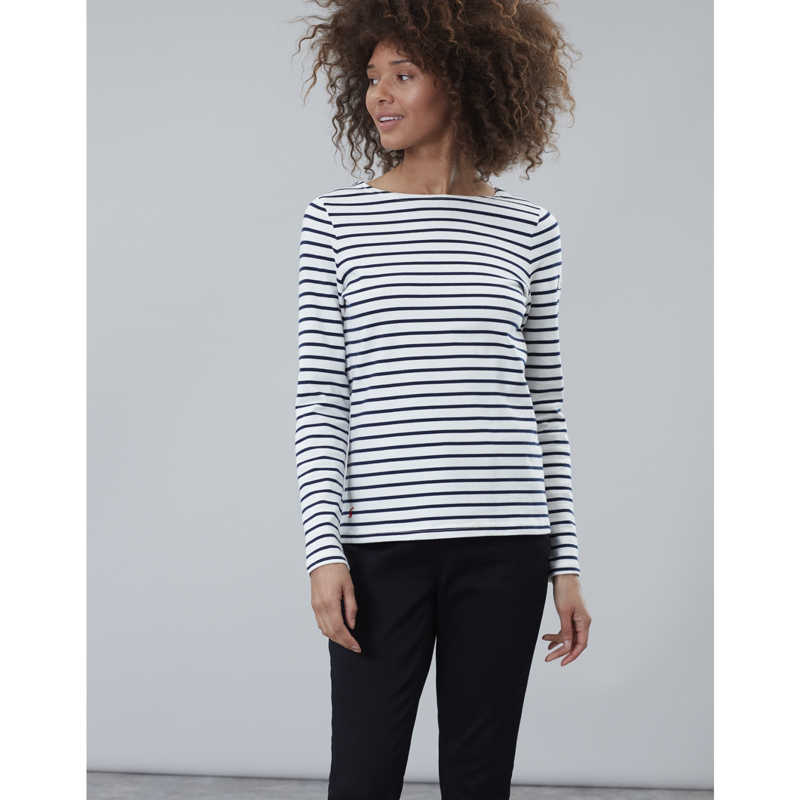 Joules-Harbour-Long-Sleeve-Jersey-Top-ALL-COLOURS thumbnail 23