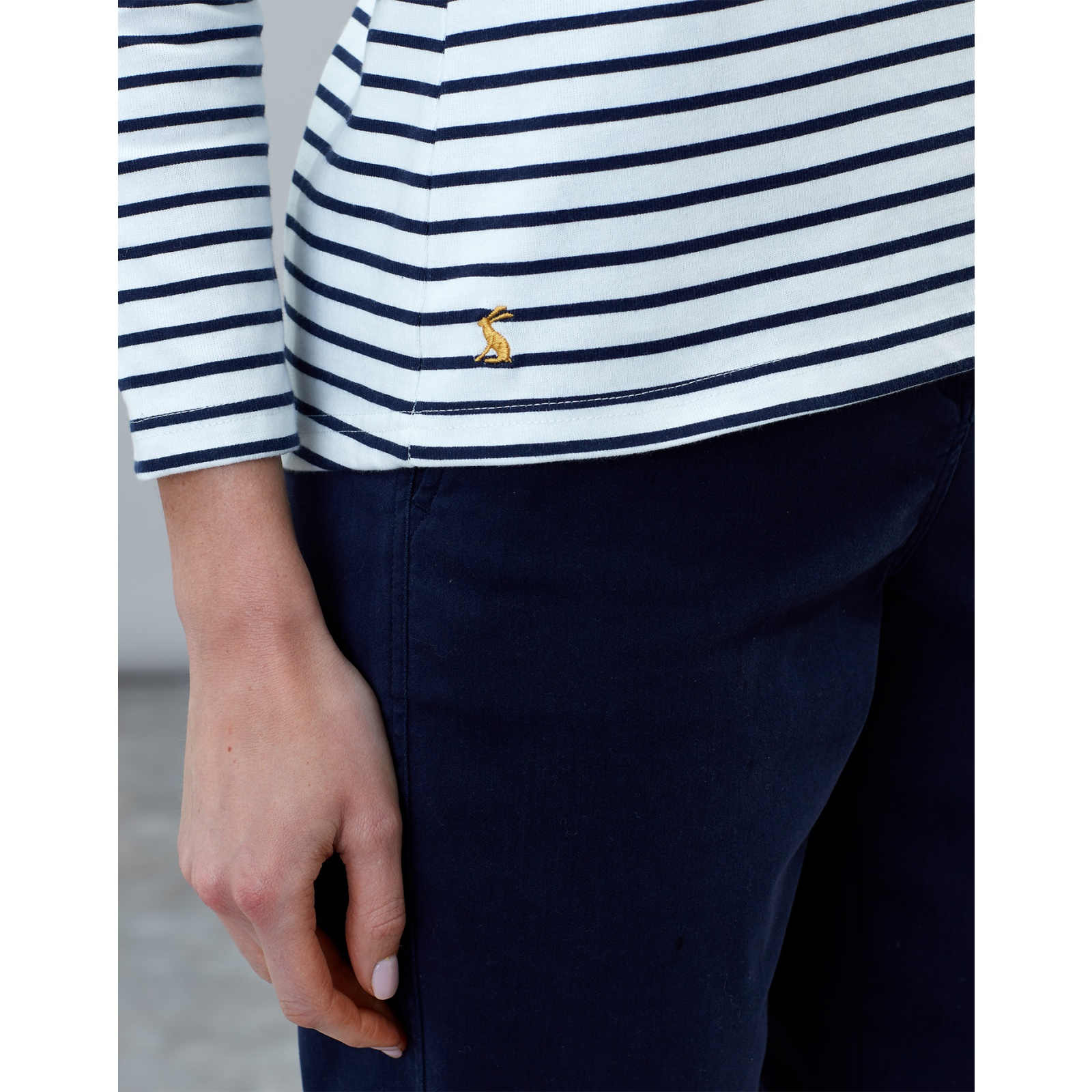 Joules-Harbour-Print-Long-Sleeve-Jersey-Top-ALL-COLOURS miniature 29