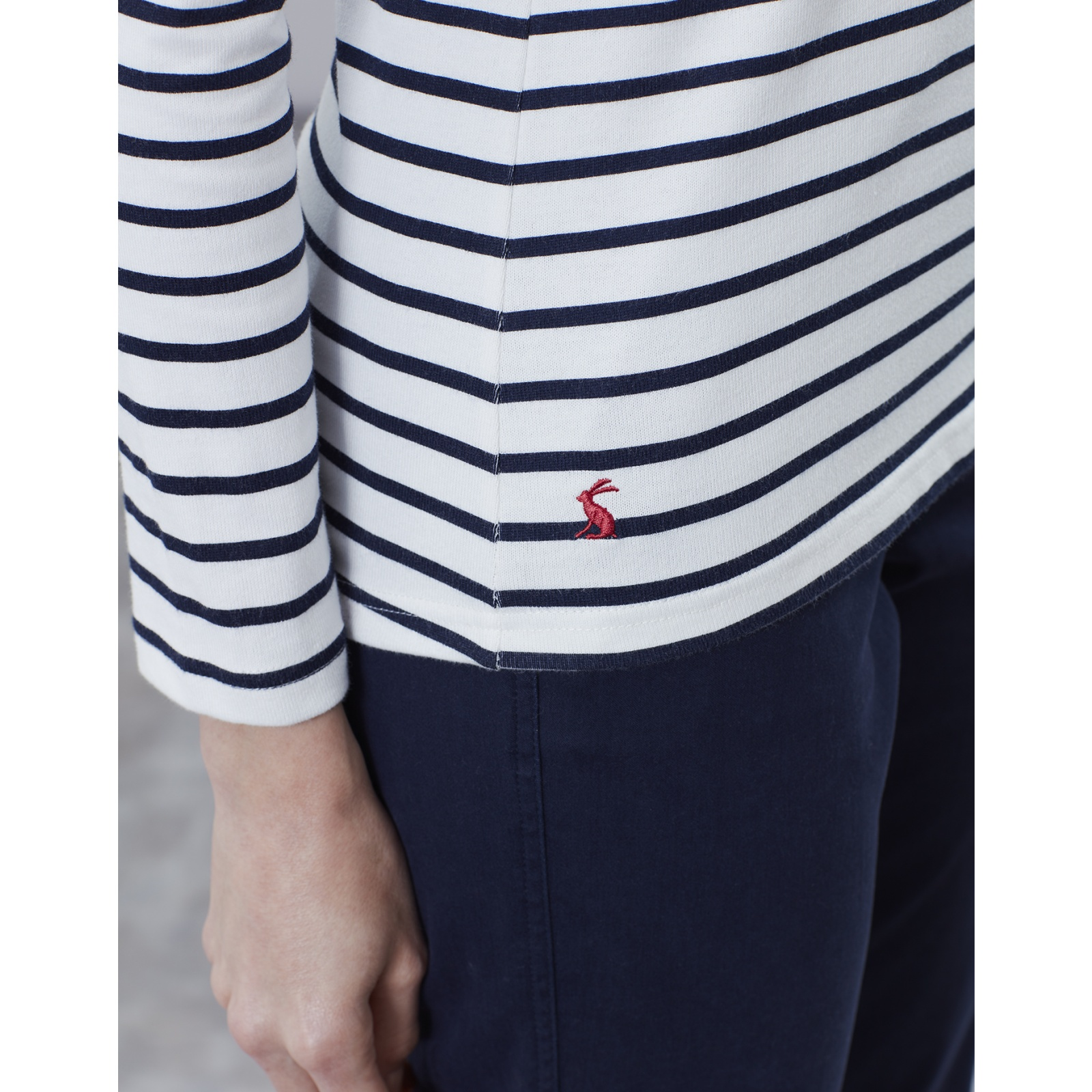 Joules-Harbour-Print-Long-Sleeve-Jersey-Top-ALL-COLOURS miniature 12