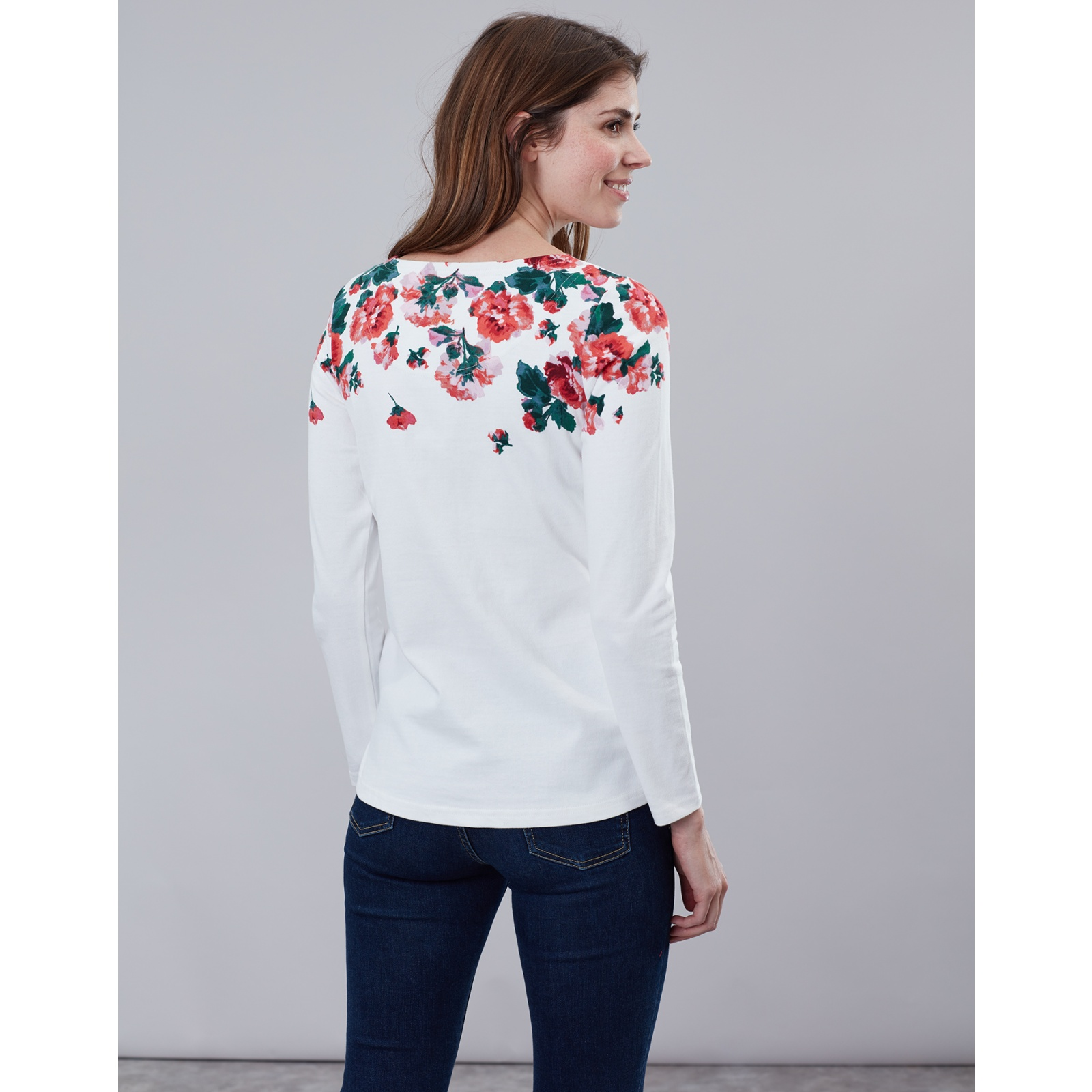 Joules-Harbour-Print-Long-Sleeve-Jersey-Top-ALL-COLOURS miniature 19