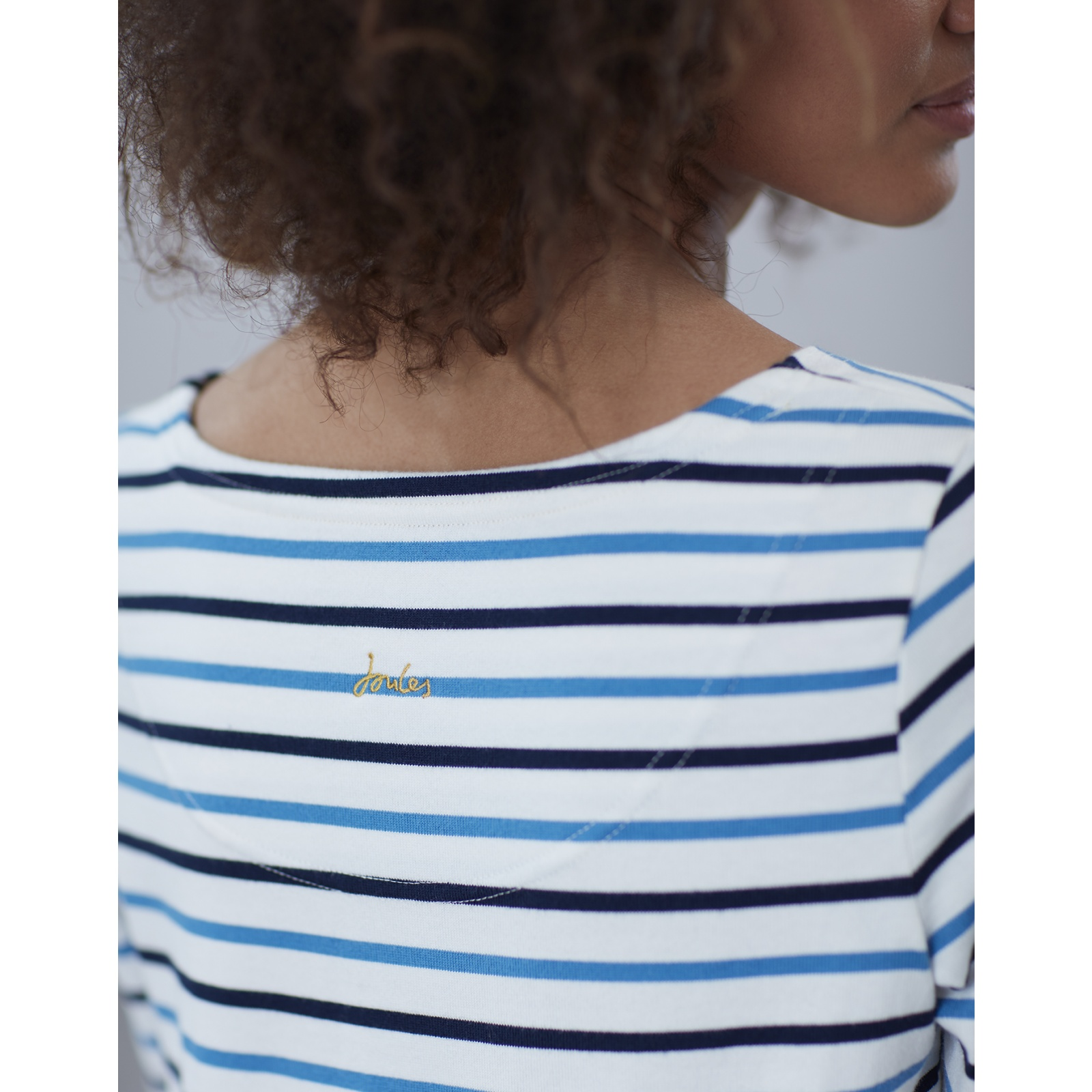Joules-Harbour-Embroidered-Long-Sleeve-Jersey-Top-MORE-COLOURS miniature 10