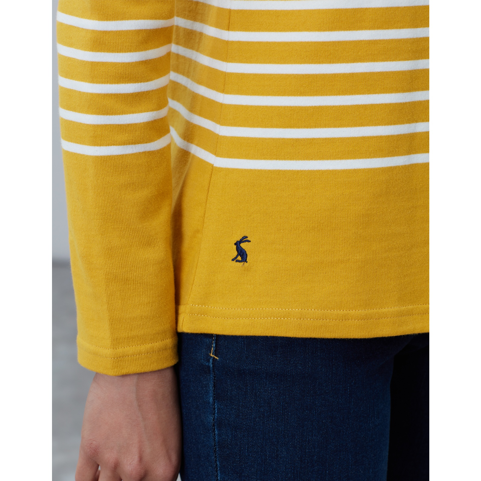 Joules-Harbour-Embroidered-Long-Sleeve-Jersey-Top-MORE-COLOURS thumbnail 23