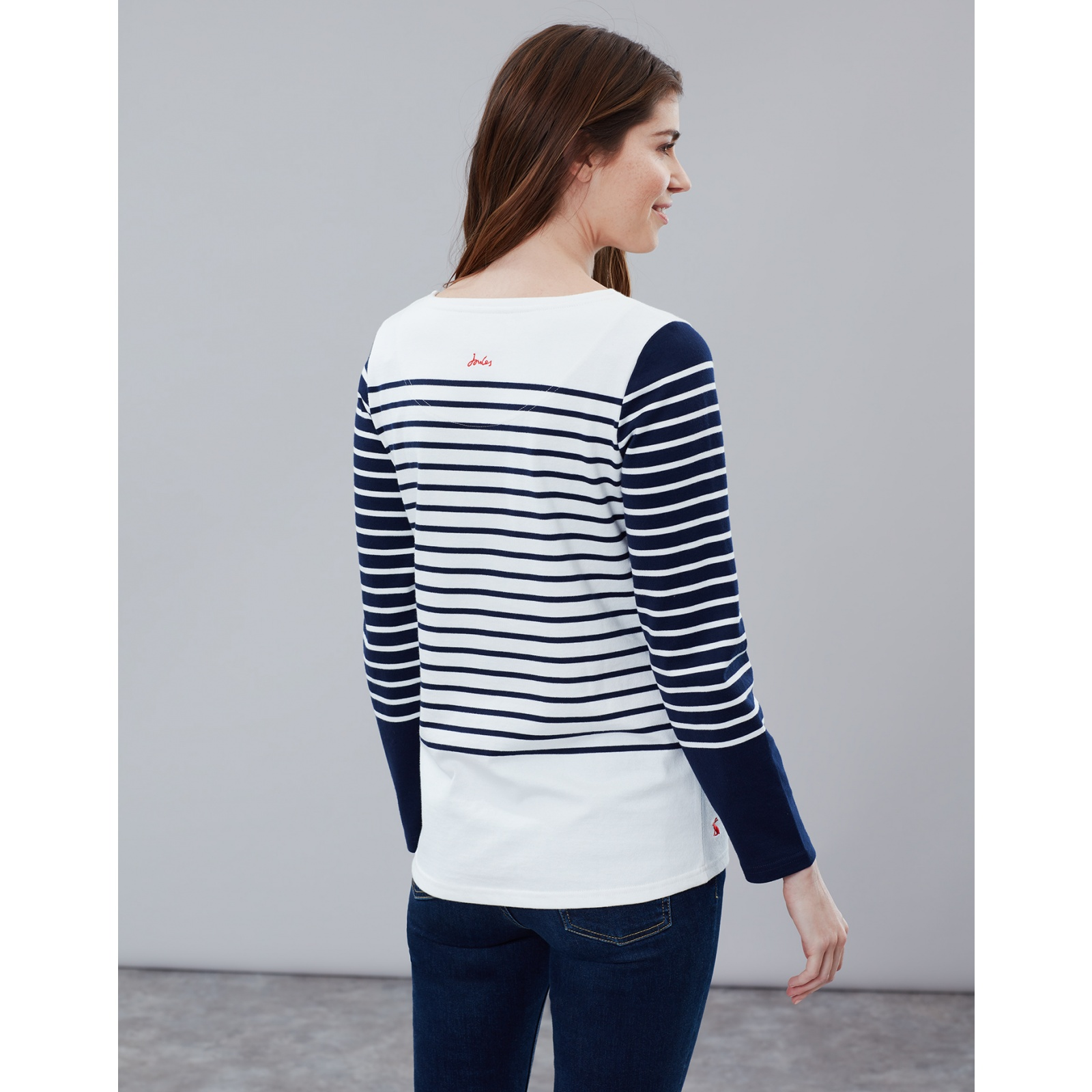 Joules-Harbour-Embroidered-Long-Sleeve-Jersey-Top-MORE-COLOURS thumbnail 29