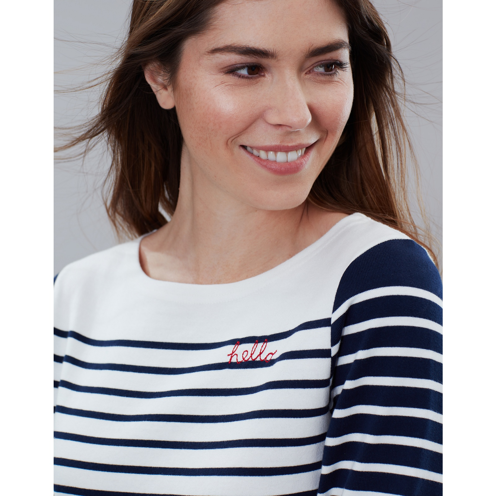 Joules-Harbour-Embroidered-Long-Sleeve-Jersey-Top-MORE-COLOURS thumbnail 32