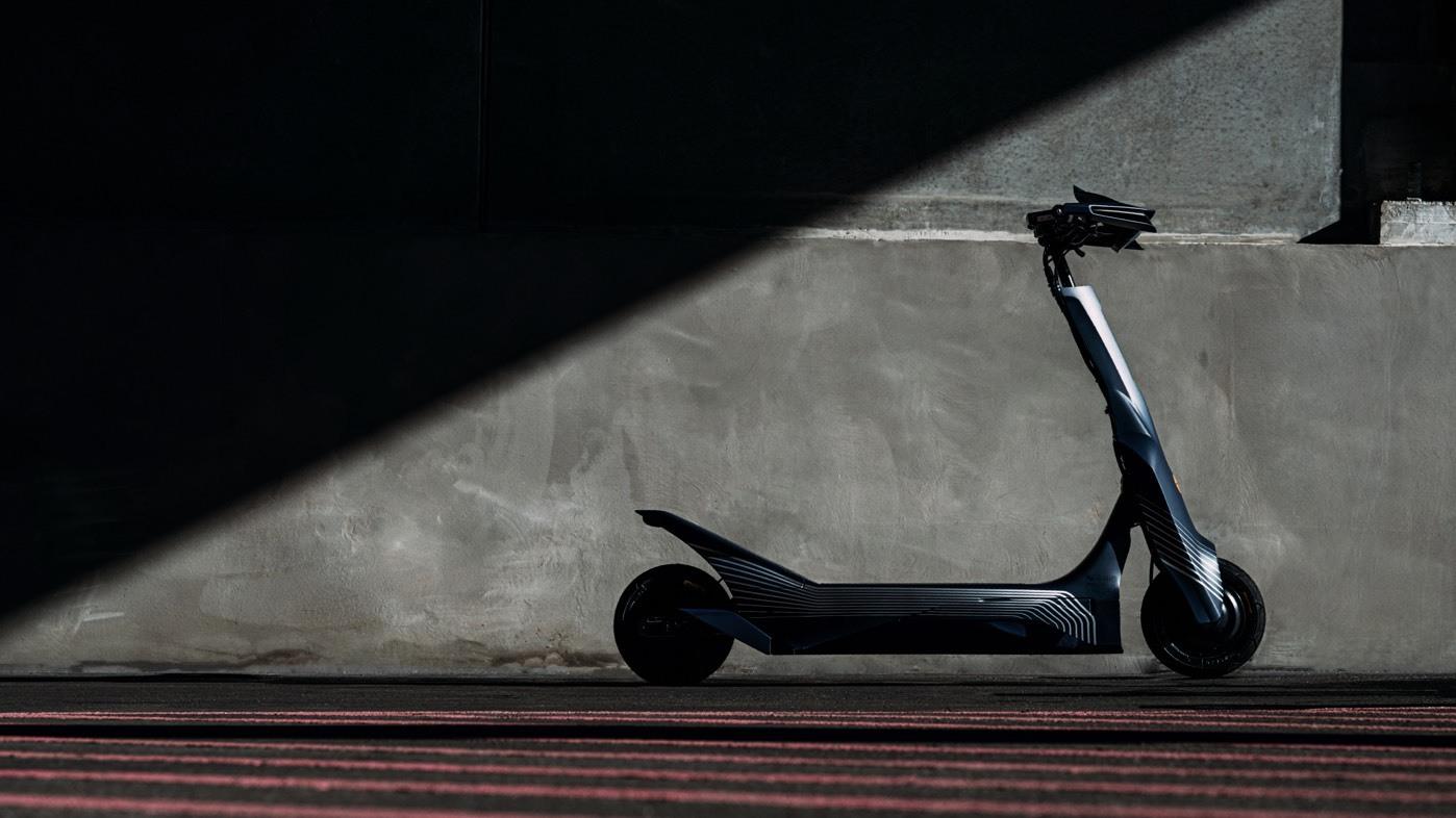 Esc has officially unveiled the electric e Skootr