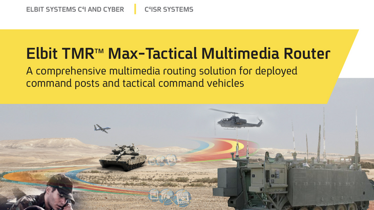 TMR™ MAX tactical multimedia router