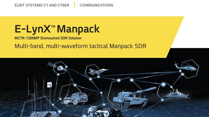 E-LynX™ MCTR 7200MP Manpack