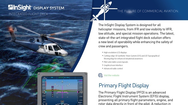 InSight<sup>TM</sup> Display System - Helicopters
