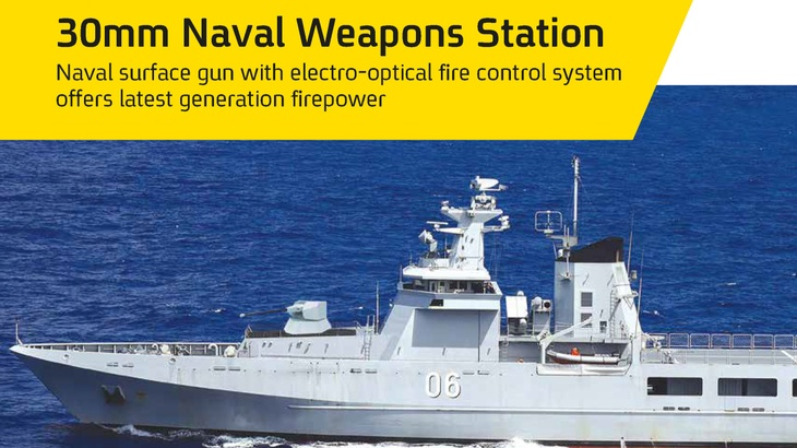 30mm Naval Surface Gun