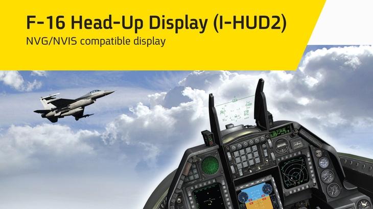 F-16 Head-Up Display (I-HUD2)