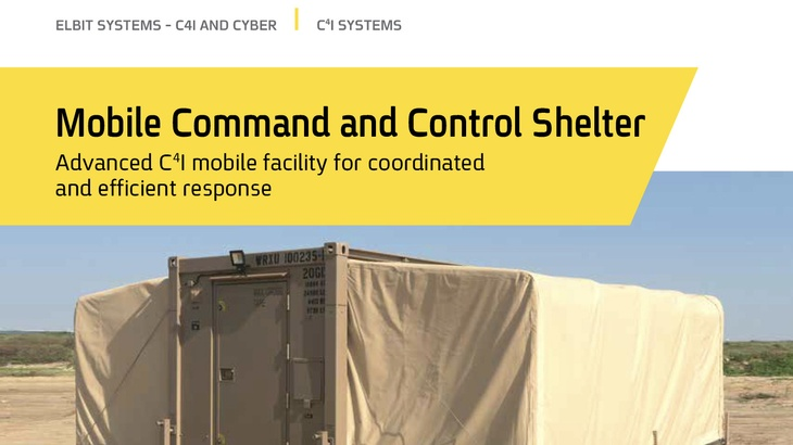 Mobile Expandable Command and Control Shelter V2