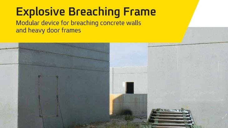 Explosive Breaching Frame