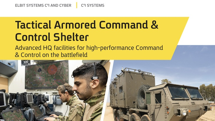 Tactical Armored Command & Control Shelter
