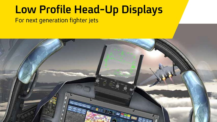 Low Profile Head Up Displays