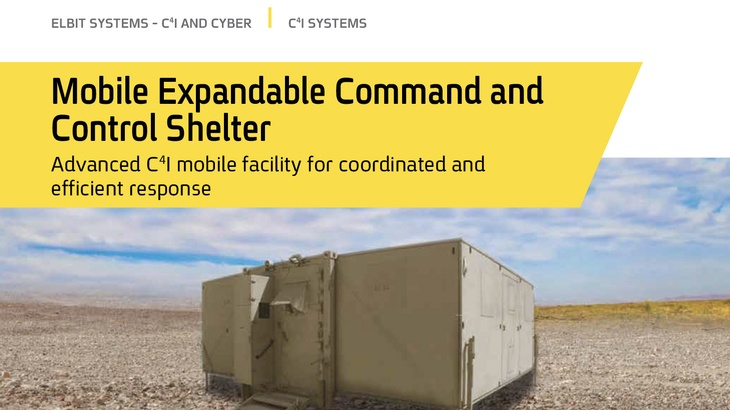 Mobile Expandable Command and control shelter V1