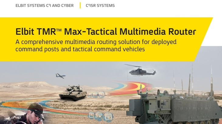 TMR<sup>TM</sup> MAX Tactical Multimedia Router