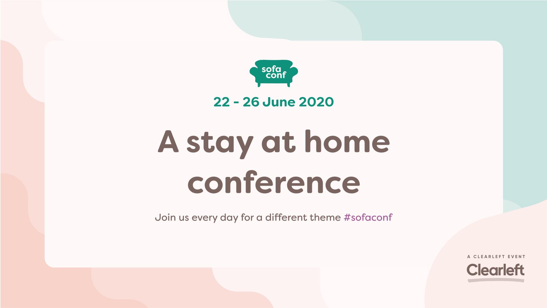 Home | SofaConf 2020