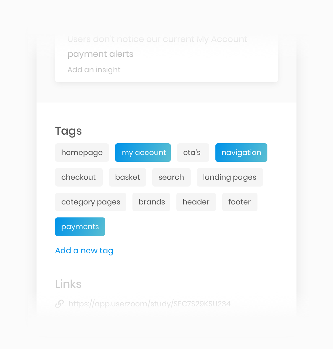 Group & Categorise with Tags | Insightful