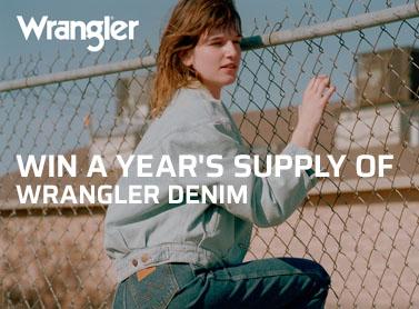 Win Year's supply of Wrangler
