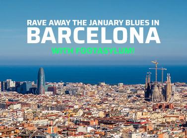 Win a party weekend in Barcelona