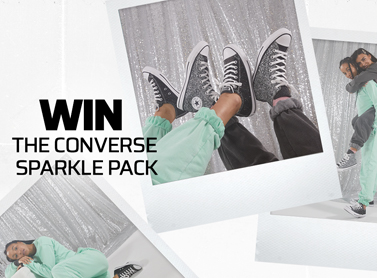 Win Three Pairs of Converse from the Sparkle pack
